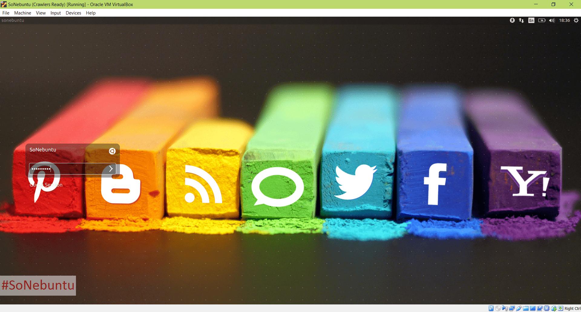 انتشار SoNebuntu Light: نسخه سبک توزیع لینوکس مخصوص تحلیل گران شبکههای اجتماعی